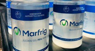 Álcool Marfrig