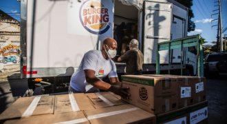 ADM, Burger King e Marfrig anunciam doação de hambúrgueres vegetais