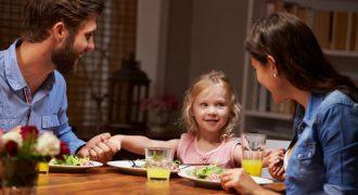 jantar em familia