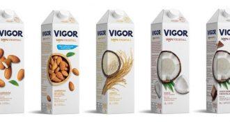 Vigor entra na categoria plant based e lança sua primeira linha de bebidas vegetais